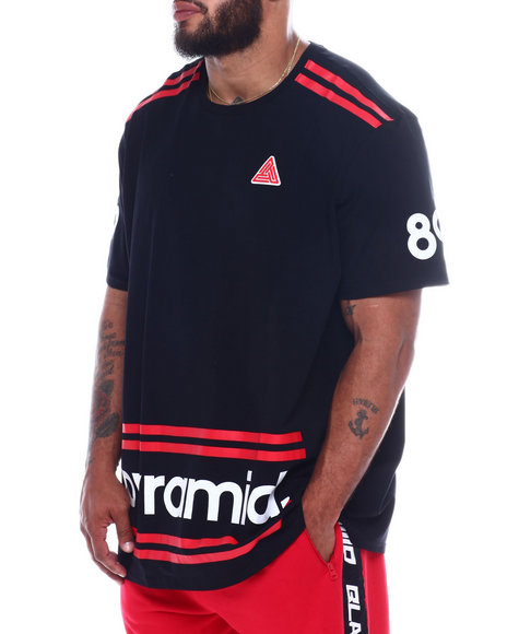 Black Pyramid - Pyramid Stripes Tee (B&T)