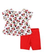 Disney/Sesame Street - Minnie Top & Shorts Set (0-24mo)-2357284
