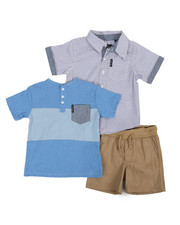 Ben Sherman - 3 Piece Knit Set (2T-4T)-2357430