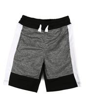 Boys - Color Block Marled Shorts (8-20)-2358561