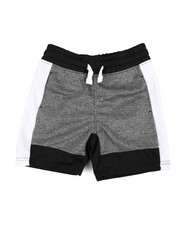 Shorts - Color Block Marled Shorts (4-7)-2358576