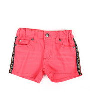 Delia's Girl - Printed Side Taping Shorts (4-6X)-2358532