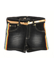 Delia's Girl - Side Rainbow Taping Shorts (7-16)-2358478