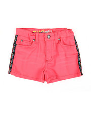 Delia's Girl - Printed Side Taping Shorts (7-16)-2358537