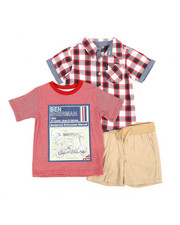 Ben Sherman - 3 Piece Knit Set (2T-4T)-2357398