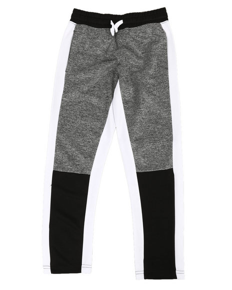 Southpole - Tricot Color Block Marled Pants (8-20)