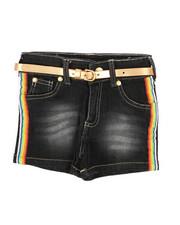 Shorts - Side Rainbow Taping Shorts (4-6X)-2358473