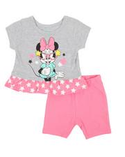 Disney/Sesame Street - Minnie Top & Shorts Set (0-24mo)-2357270