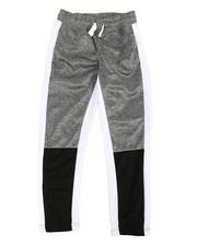 Pants - Tricot Color Block Marled Pants (8-20)-2358590