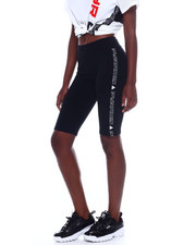 Black Pyramid - Side Tape Race Biker Shorts-2358780