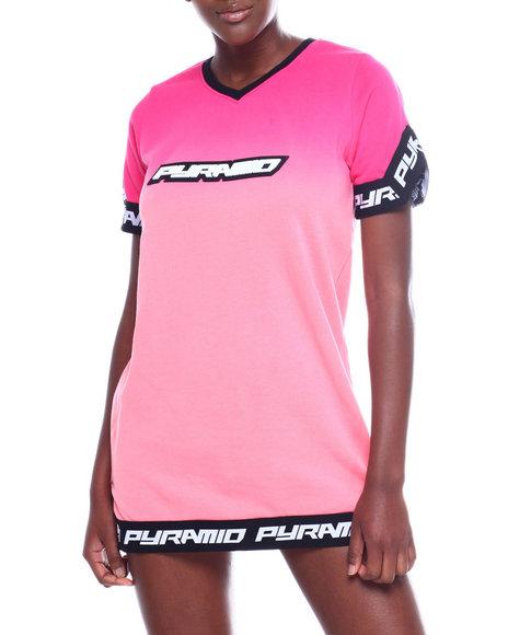 Black Pyramid - Ombre T-Shirt Dress