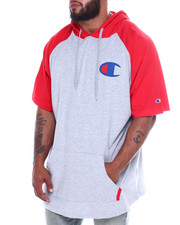 Big & Tall Faves - S/S Raglan Hood w/ Contrast Trim (B&T)-2359979