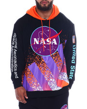 Hudson NYC - Cosmic Dust Worm Hoodie Pullover-2355101