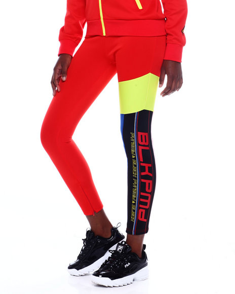 Black Pyramid - Moto Blocked Leggings