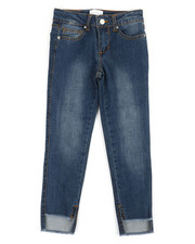 BCBGirls - Step Hem Stretch Jeans (7-16)-2361164
