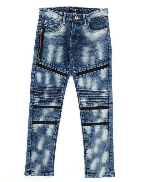 Arcade Styles - Stretch Biker Denim Jeans (8-20)