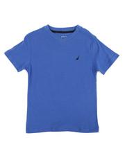 Boys - Nautica Logo Printed Tee (4-7)-2360196