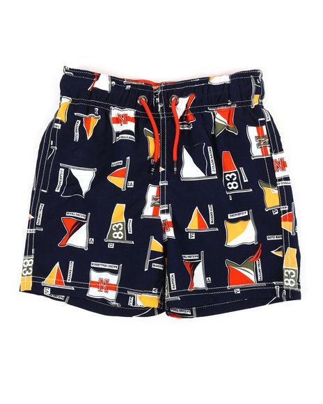 390dabc606 Buy Printed Swim Trunks W/ Drawcords (4-6X) Boys Swimwear from ...