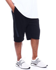 Shorts - Tech Fleece Shorts W/ Wrap Round Heat Seal Zipper (B&T)-2361311