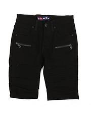 Phat Farm - Stretch Moto Denim Shorts (8-20)-2359832