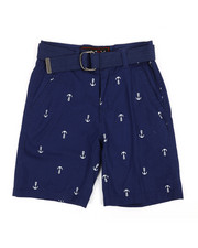Boys - Graphic Print Shorts (8-20)-2360091