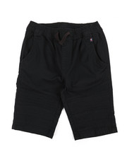 Phat Farm - Stretch Pull On Twill Moto Shorts (8-20)-2359739
