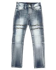 Boys - Biker Denim Jeans (8-20)-2360489