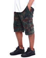 Big & Tall Faves - Tech Fleece Shorts W/ Wrap Round Heat Seal Zipper (B&T)-2361275