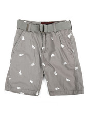 Boys - Graphic Print Shorts (8-20)-2360121