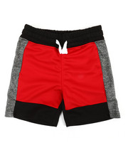 Boys - Color Block Marled Shorts (4-7)-2359697