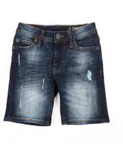 Boys - 5 Pocket Denim Shorts (4-7)-2359912