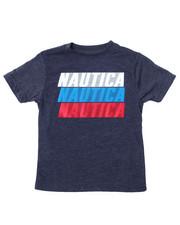 Nautica - Nautica Logo Printed S/S Tee (2T-4T)-2360606