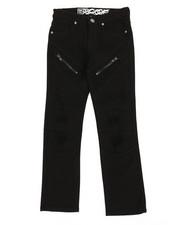 Pants - Stretch Twill Moto Pants W/ Zippers (8-20)-2359888