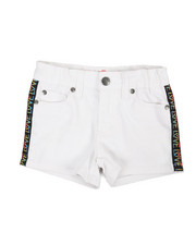 Delia's Girl - Printed Side Taping Shorts (4-6X)-2358527