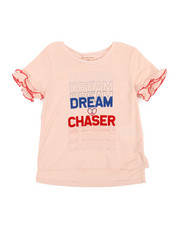 BCBGirls - Dream Chaser Ruffle Tee (4-6X)-2358373