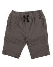Phat Farm - Stretch Pull On Twill Moto Shorts (8-20)-2359734