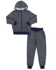 Sets - Marled Hoodie & Sweatpants Set (8-20)-2339562