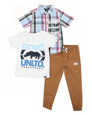 Boys - 3Pc Knit Set (4-7)-2349213