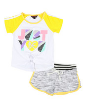 Delia's Girl - Tee & Shorts Set (4-6X)-2357543