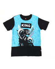 Sizes 8-20 - Big Kids - Cut & Sew Tee W/ Chenille Patch (8-20)-2360025
