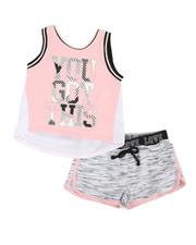 Delia's Girl - 2 Pc Active Tank & Shorts Set (4-6X)-2357513