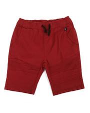 Phat Farm - Stretch Pull On Twill Moto Shorts (8-20)-2359744