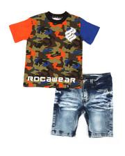 Rocawear - 2Pc Denim Short Set (2T-4T)-2357526