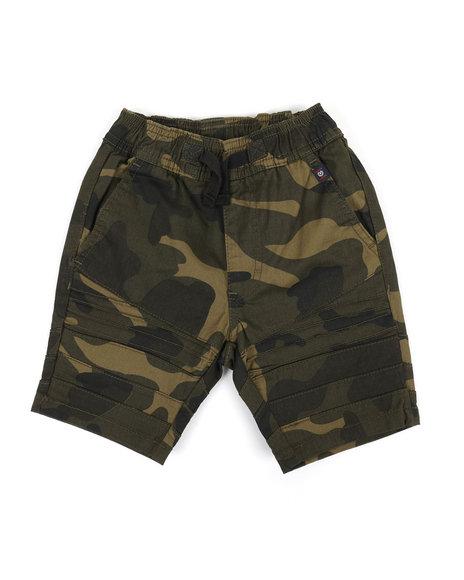 Phat Farm - Camo Print Moto Shorts (4-7)