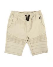 Phat Farm - Stretch Pull On Twill Moto Shorts (8-20)-2359749