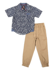 Arcade Styles - All Over Print Woven & Twill Jogger Set (4-7)-2357434