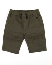 Phat Farm - Stretch Pull On Twill Moto Shorts (8-20)-2359707