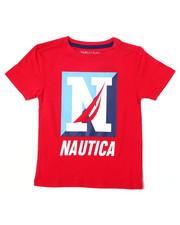 Nautica - S/S Crew Tee (4-7)-2362105