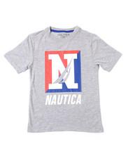 Nautica - S/S Crew Tee (4-7)-2362100