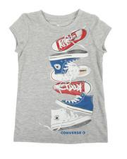 Converse - Chuck Stack Tee (4-6X)-2360157
